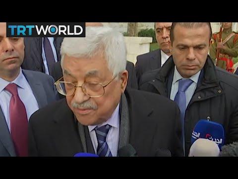 Future of Jerusalem: Palestinian president Mahmoud Abbas