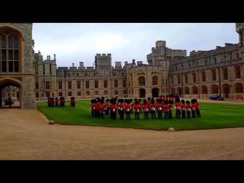 Windsor  Castle 2015 - The Queen's Foot Guards