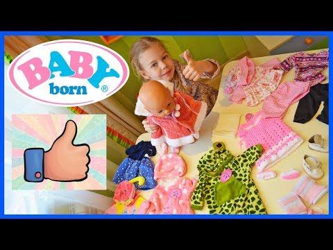 Большая распаковка! Посылки Aliexpress для Беби Бона. Одежда, обувь и аксессуары для Baby Born Вещи