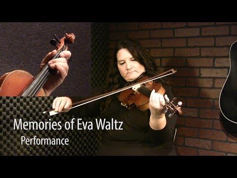 Memories Of Eva Waltz - Canadian Fiddle Lesson by Patti Kusturok