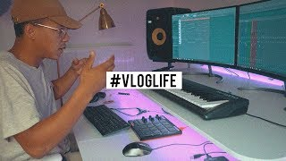 MAKING A PIANO ONLY RAP BEAT ON THE SPOT!  #VLOGLIFE thumbnail