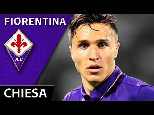 Federico Chiesa • 2017/18 • Fiorentina • Magic Skills, Passes & Goals • HD