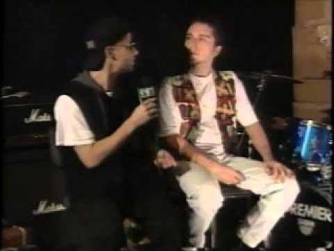 Branco Mello e Sérgio Britto falam do Kleiderman no programa Gás Total MTV em 1995