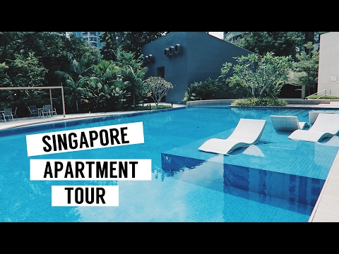 NEW SINGAPORE APARTMENT TOUR 2017!