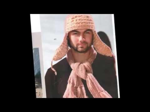 Вязаные шапки  Мужские модные шапки
