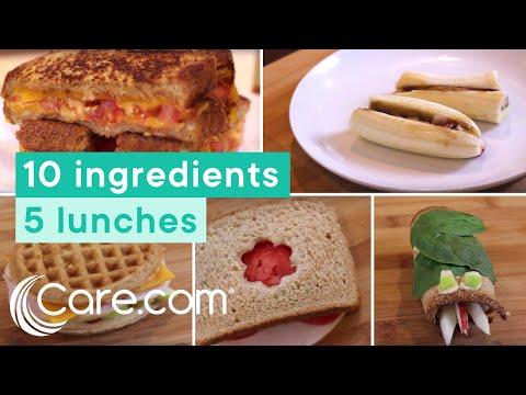 Fun Healthy School Lunch Ideas Care Com Youtube