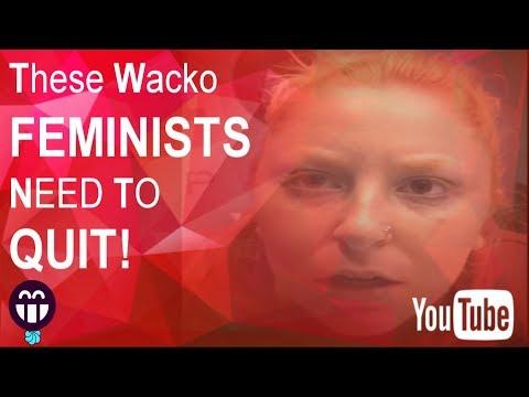 TRIGGERED!!!! FEMINIST 'Anna Storelli' needs to QUIT