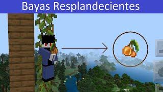 Minecraft Bayas resplandecientes y para que sirven