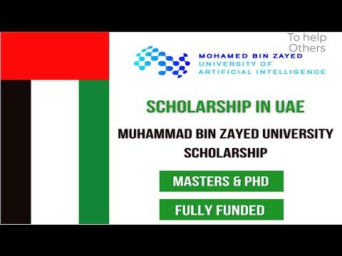 Muhammad Bin Zayed University Scholarship 2021 | Study in Dubai – Fully Funded