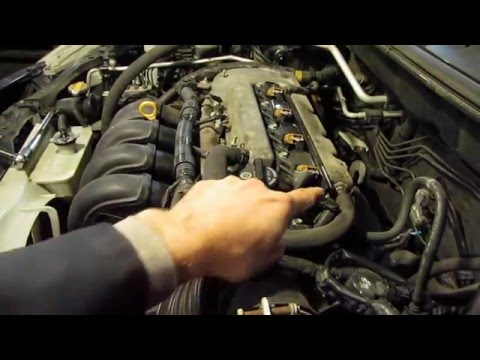 PCV Replacement 18L 1ZZ FE Matrix Vibe and Corolla - YouTube
