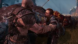 Dads Play God of War for Fathers Day
