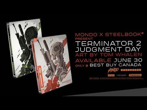 Terminator 2: Judgment Day - Mondo x SteelBook® #009 Best Buy Canada Exclusive