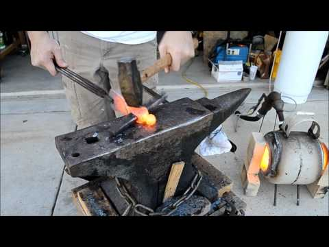 Forging an Adze From A Ball Peen Hammer