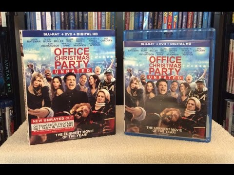 office christmas party blu ray unboxing and review unrated edition