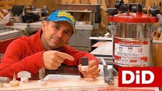 844. Dysza DIY do ciśnieniowego podawania kleju dla dowolnego frezu profilowego