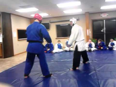 Judo Vs. Taekwondo Father Vs. Son