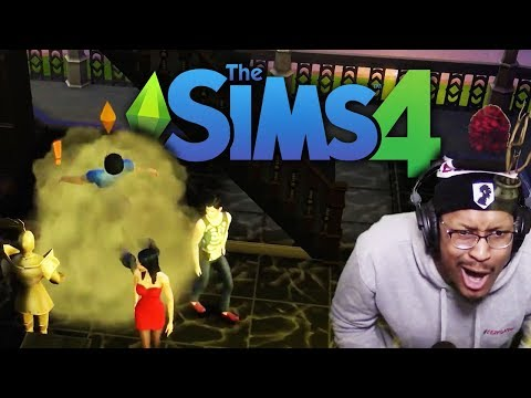 EDMOND'S FIRST FIGHT!! | The Sims 4 | Lets Play - Part 7