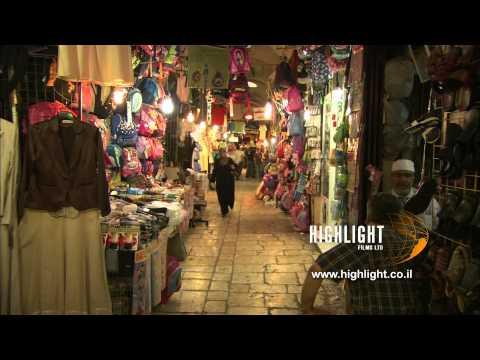 JC_024 - Highlight Films stock footage library: Jerusalem Christian Quarter Suk