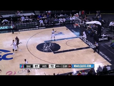Highlights: Cory Jefferson (23 points)  vs. the Spurs, 3/20/2016