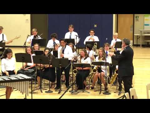 2018 Corona Foothills Middle School Spring Concert - David Chase Solo.
