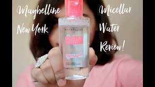 Maybelline New York Micellar Water Review + Demo!