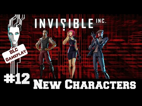 Invisible Inc - Contingency Plan New Characters - Gameplay/Walkthrough - Part 12