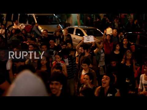 Brazil: Hundreds march against Temer's education reforms in Sao Paulo