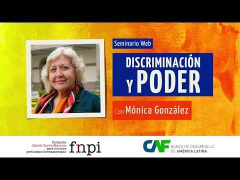 Discriminación y poder: Seminario web con Mónica González