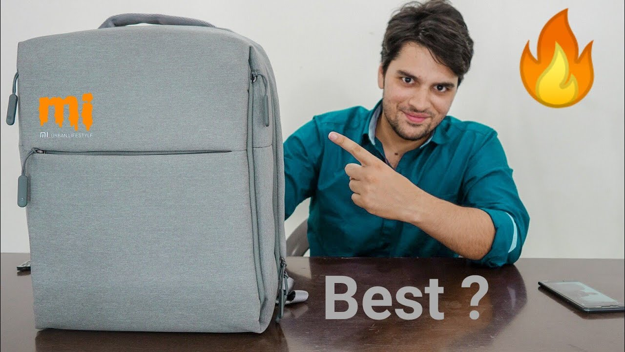 Best Backpack for Your Money !! Mi City Backpack by Xiaomi (Hindi ... 2497a6565f9
