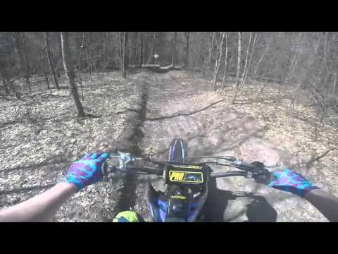 Leota Michigan ORV Trails 4/16/2016 Un-Edited