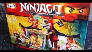 UNBOXING: Lego Ninjago Dojo Showdown 70756
