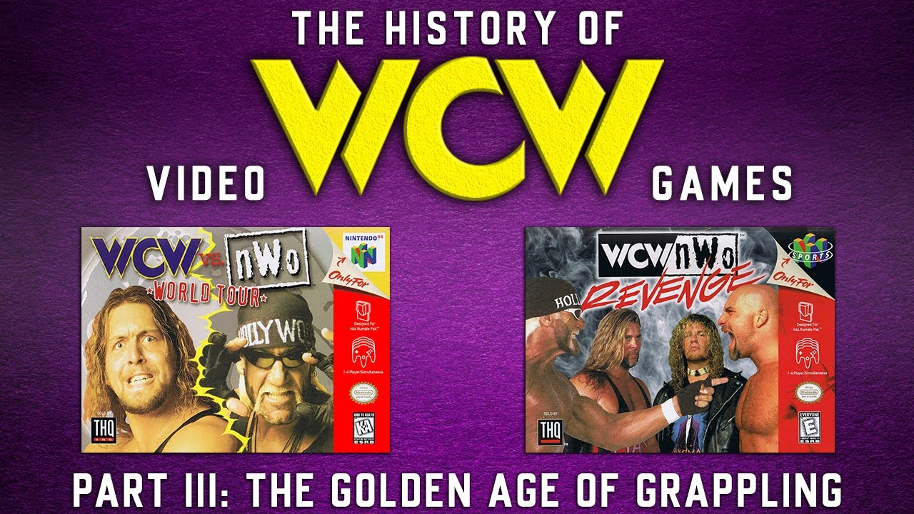 The History Of Wcw Video Games Part Iii The Golden Age Of Grappling Youtube