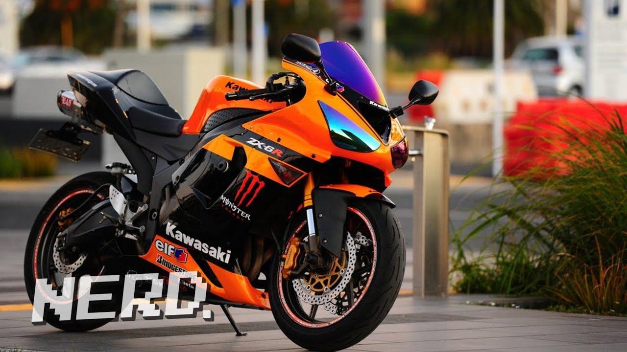 05 06 Kawasaki ZX6R Motorcycle Extreme Makeover