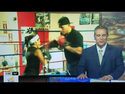 Natalie Martinez boxing interview