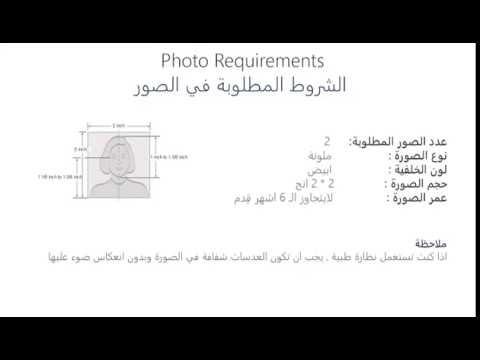 U.S VISA  Photo Requirements