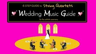 6 Step String Quartet Wedding Guide YouTube Thumbnail