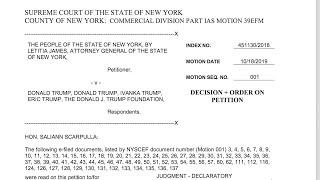 Judge fines Trump $2 million for misusing charity