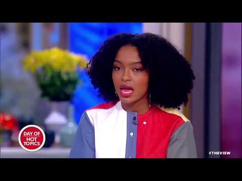 Yara Shahidi Speaks Out On Protests In Iran | The View