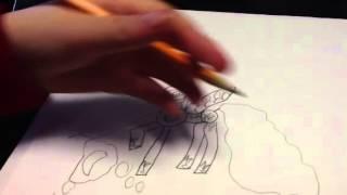 Drawing Nightmare Moon