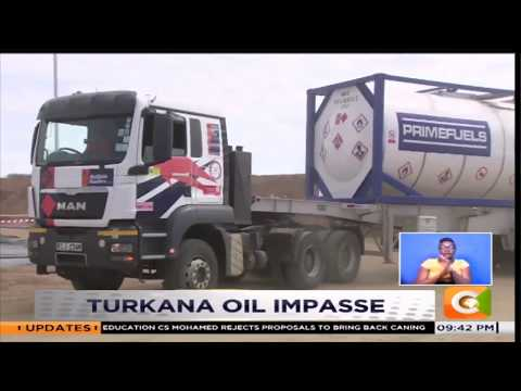 Tullow oil stops operations #JKL