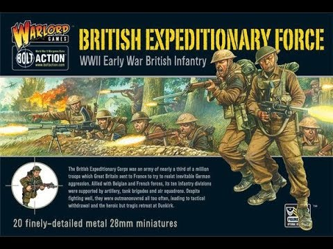 Unboxing British Expeditionary Force Bolt Action