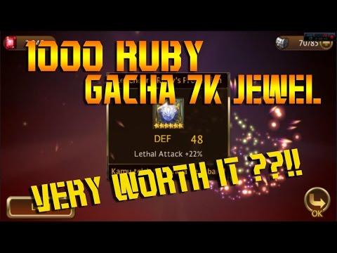 Seven Knights: Gacha 1000 Ruby - Jewel Seven Knights #2