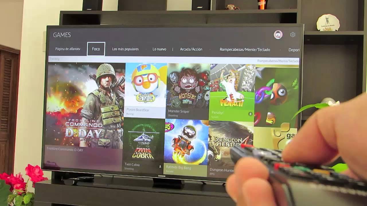 Como Descargar Aplicaciones Y Juegos En Samsung Smart Tv Youtube