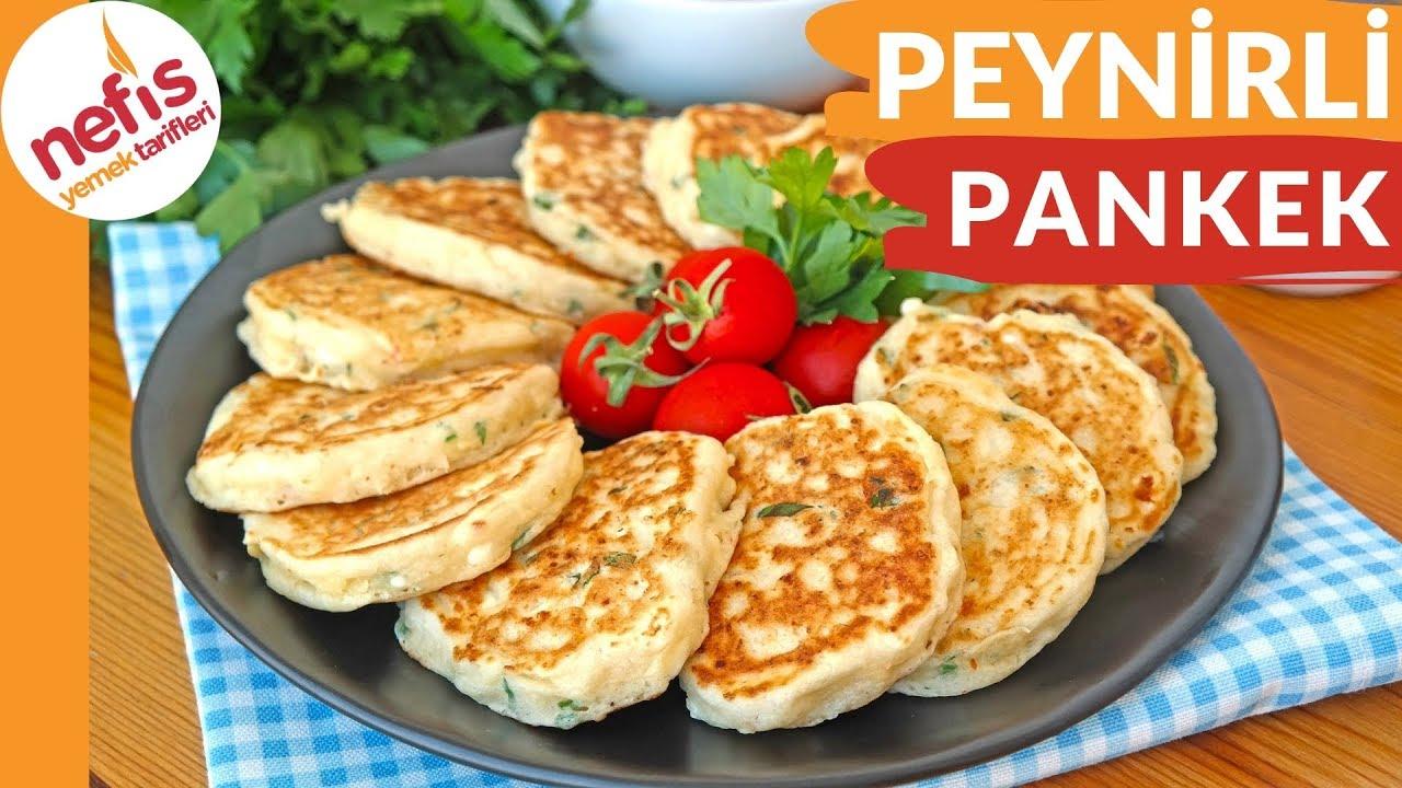 Kahvaltıların Vazgeçilmezi Olacak Peynirli Pankek Tarifi