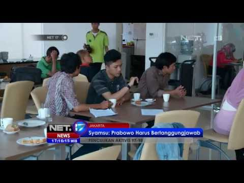 NET17 - Jelang Pilpres 2014 Kasus Penculikan Aktivis Prodemokrasi 1997-1998 Mengemuka #Pemilu 2014