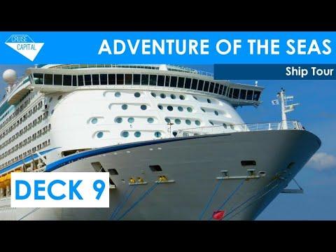 Adventure of the Seas Deck 9 Tour - YouTube