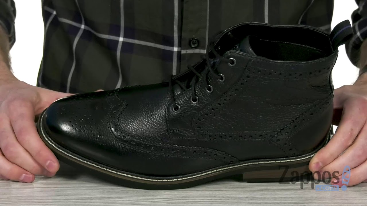 5ee3eaffc95 Nunn Bush Odell Wingtip Boot with KORE Walking Comfort Technology ...