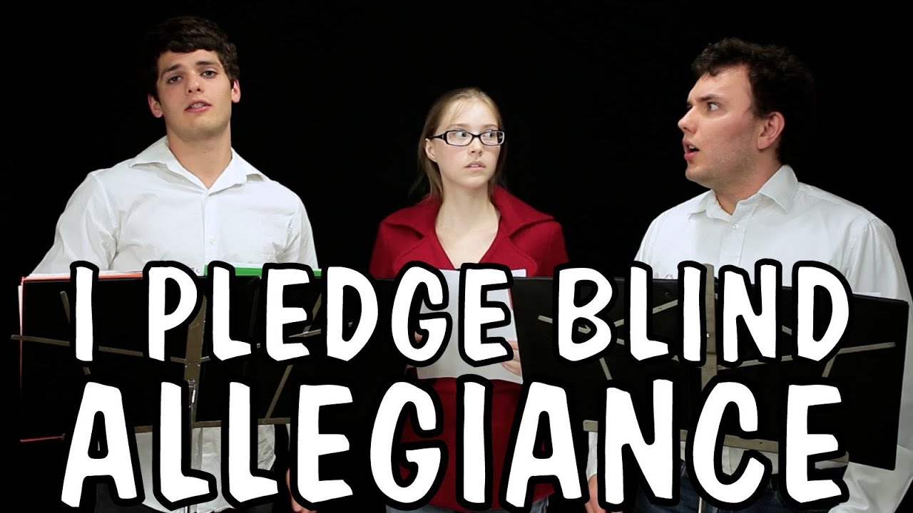 Messy Mondays: I Pledge Blind Allegiance