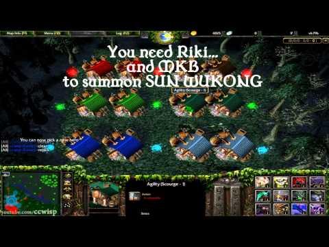 DotA Summon Secret Boss Sun Wukong