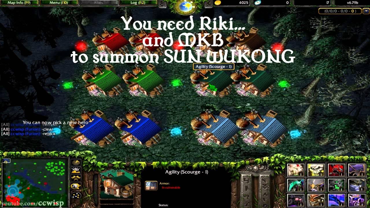 Dota Summon Secret Boss Sun Wukong Youtube